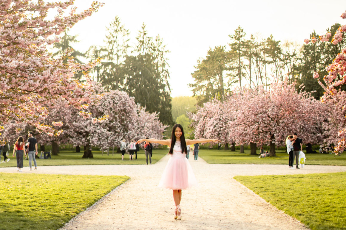 The most beautiful park to see cherry blossom in Paris - Parc de Sceaux